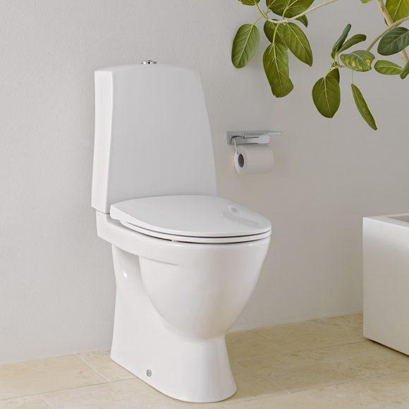 Gulvstående toalett fra Laufen