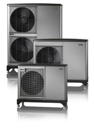 NIBE F2040 er en luft-vann-varmepumpe som passer for både boliger og næringsbygg.