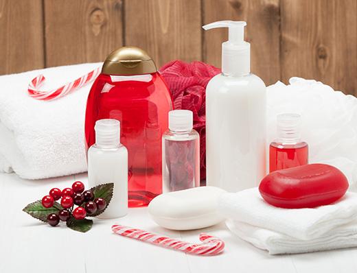 Bland rødt og hvitt for å skape julestemning