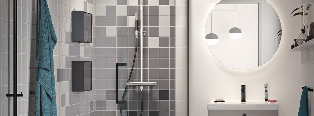 Få smart lagringsplass i dusjen