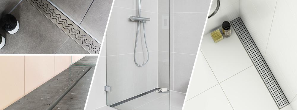 Lyst på et moderne bad? Flytt sluket inntil veggen