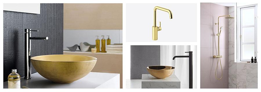 gull er fortsatt populært på badet