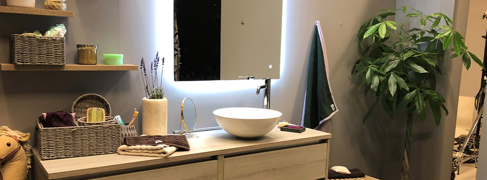 7 tips til belysning på badet